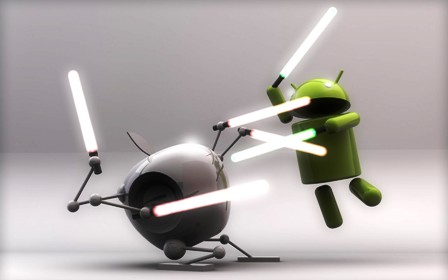 Android Jelly Bean vs iOS 6