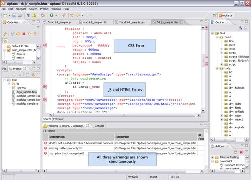 Editor Open source Aptana