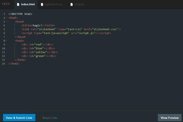 Contoh belajar jQuery secara interaktif