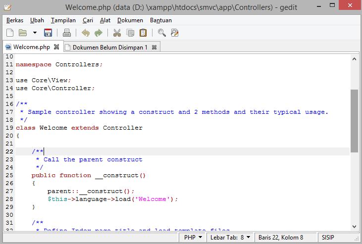 GEdit bisa di install di Linux, Windows dan OSX