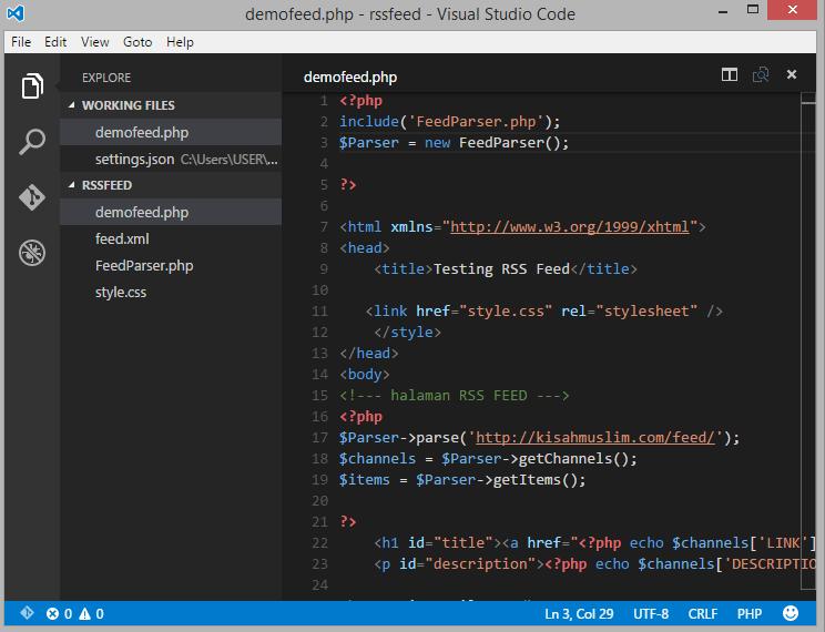 Visual Studio Code dari Microsoft