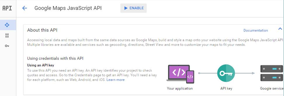 Tutorial Implementasi Google Map Javascript Api Key